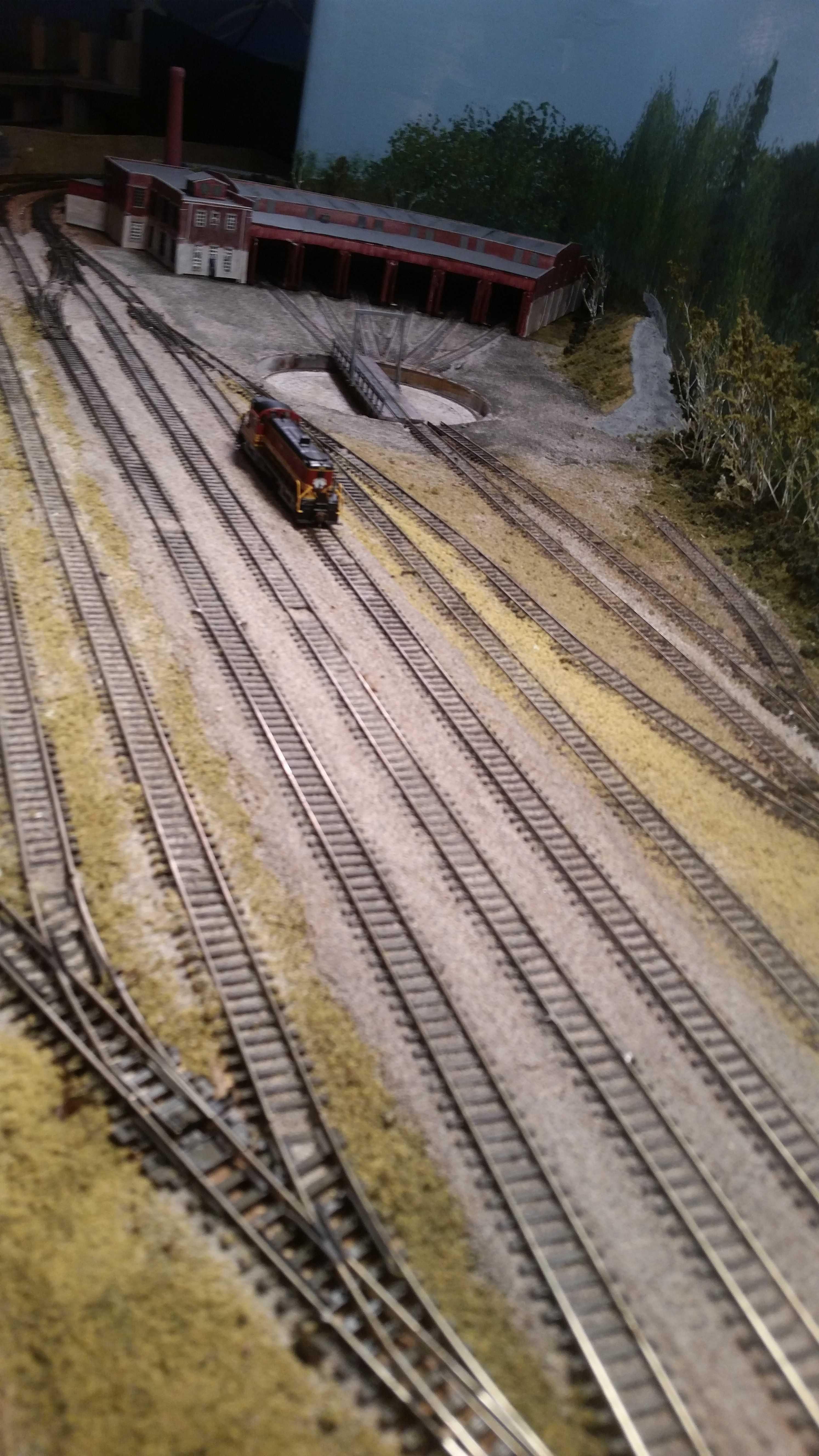Dover Yard Tracks